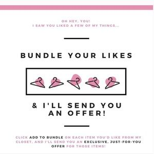 Bundle for likes for an special offer
